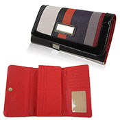 Joanne Flap Over Purse Red
