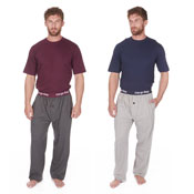 Mens CargoBay Lounge Set Red/Blue