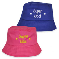 Childrens Super Cool Bucket Hat