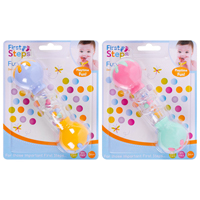 First Steps Dumbell Rattle Assorted