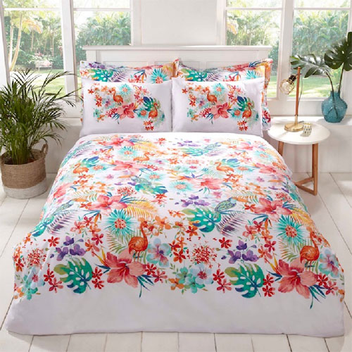 Studio Art Tropical Duvet Set Reversible