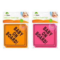Baby On Board Car Sign 2 Pack
