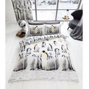 Penguin Reversible Duvet Cover Set