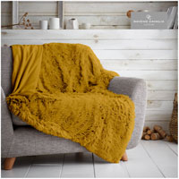 Hug And Snug Throw Ochre