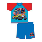 Boys Toddler Blaze Shortie Pyjamas