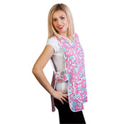 Ladies Tabards with Flower Print Design