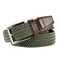 Green Fleck Stretchy Belt