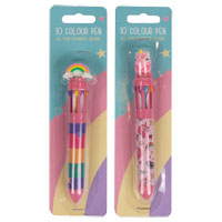 Rainbow Unicorn Ten Colour Pen