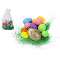 Golden Easter Egg Hunt Set
