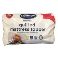 Silentnight Quilted Mattress Topper NQP