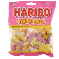 Haribo Milkshakes Sweets 140g Bag