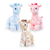 18cm Snuggle Giraffe Assorted Soft Toy