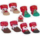 Baby Christmas Socks In Organza Bag