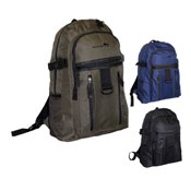 Outdoor Backpack With Zip Pockets