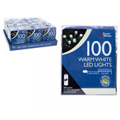 100 LED String Lights Warm White