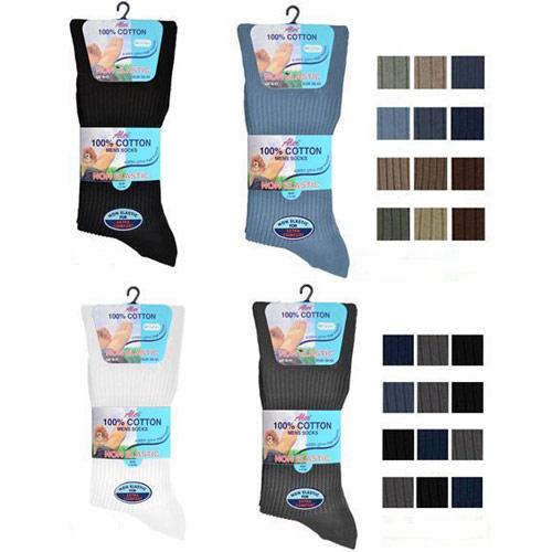 Mens 6-11 Non Elastic Socks Carton Price