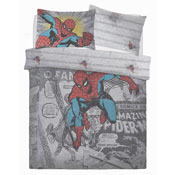 Official Spiderman Comic Group Reversible Duvet Set