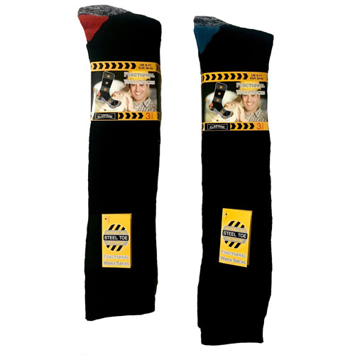 Mens Functional Long Work Socks