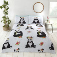 Studio Art Pandas Multi Duvet Set