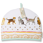 Cats on Parade Tea Cosy