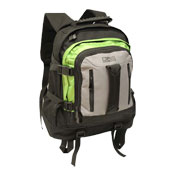 JCB Heavy Duty Full Strap Backpack Green