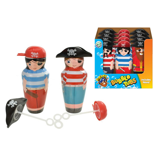 Pirate Captain and Mate Bubble Tubs