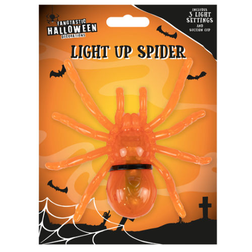 LED Luminous Spider Decoration