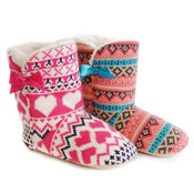 Girls Knitted Boots