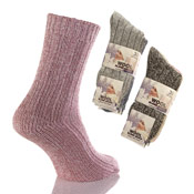 Ladies Wool Blend Socks