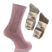 Ladies Wool Blend Socks