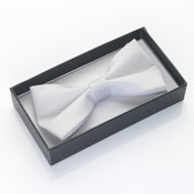Dickie Bow Tie White Boxed