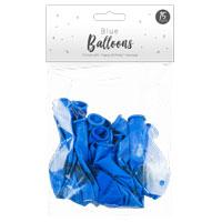 Blue Happy Birthday Balloons 15 Pack