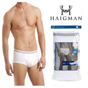 Haigman 3 pack Luxury Combed Cotton Brief