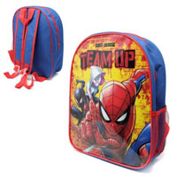 Official Spiderman Team Up 31cm Junior Backpack