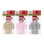 Elf Faux Fur Coat Assorted