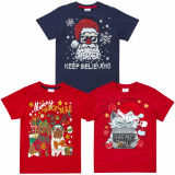 Childrens Christmas Printed T-Shirts