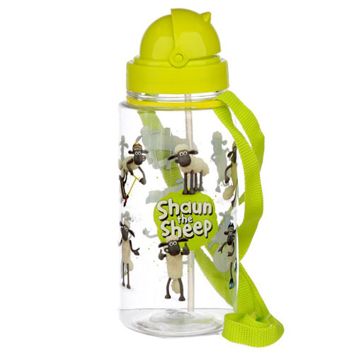 Childrens Reusable Water Bottle Shaun The Sheep
