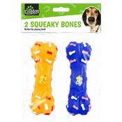 Squeaky Dog Bone Toy Set