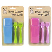 Baby Travel Cutlery Set With Case