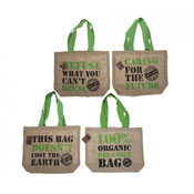 Eco Shopping Bag With Quotes