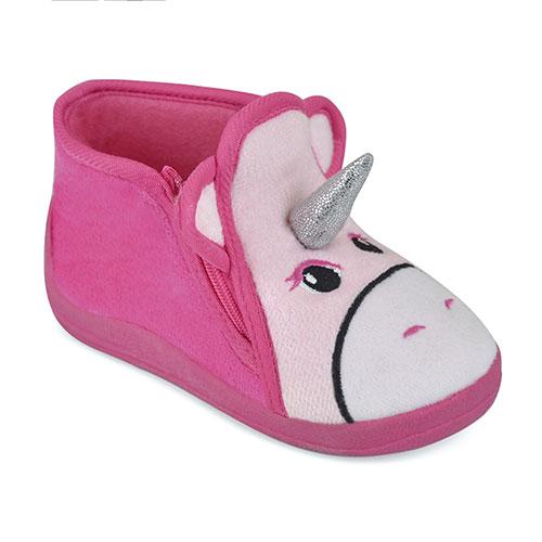 Childrens Unicorn Slippers