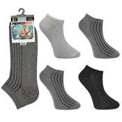 Mens Performax Trainer Socks Plain Lines