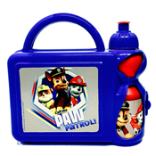 Boys Paw Patrol Hard Lunch Box and Bottle Set