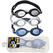 Childerns Swimming Goggles In Case