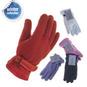 Ladies Fleece Gloves Lined