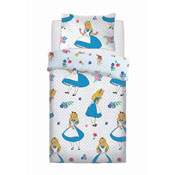 Official Alice in The Wonderland Falling Reversible Duvet Set
