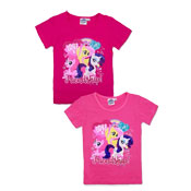 Official My Little Pony Short Sleeve Printed T-Shirt