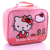 Hello Kitty Lunch Bags with Raised Artwork