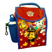 Paw Patrol Red Deluxe Lunch Bag With Bottle