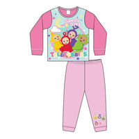 Girls Toddler Official Teletubbies Pyjamas